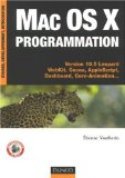 Mac OS X Programmation - Etienne Vautherin